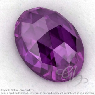 African Amethyst Oval Shape Calibrated Cabochons