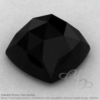 Black Onyx Square Cushion Shape Calibrated Cabochons
