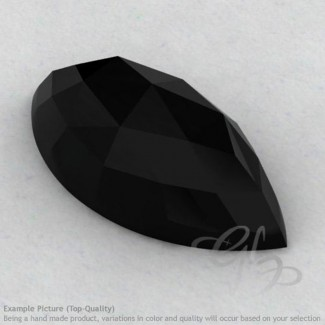 Black Onyx Marquise Shape Calibrated Cabochons