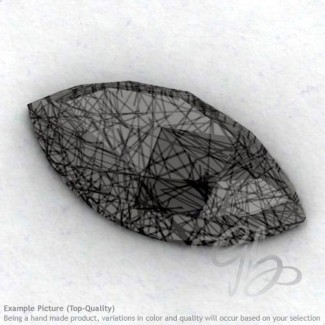 Black Rutile Marquise Shape Calibrated Cabochons