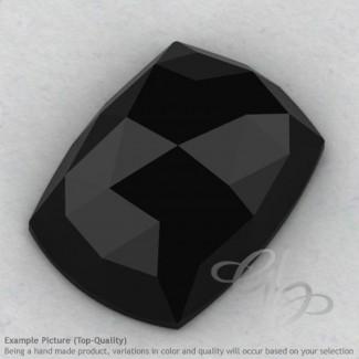 Black Spinel Cushion Shape Calibrated Cabochons