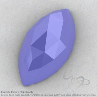 Blue Chalcedony Marquise Shape Calibrated Cabochons