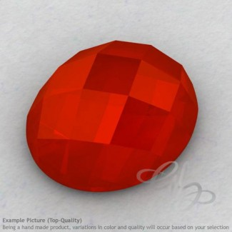 Carnelian Oval Shape Calibrated Cabochons