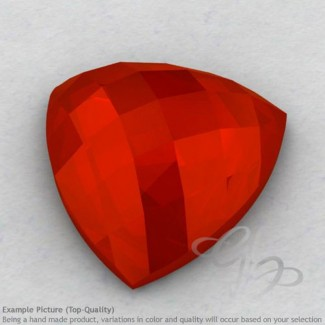 Carnelian Trillion Shape Calibrated Cabochons