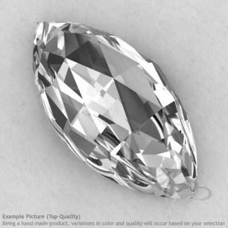 Crystal Quartz Marquise Shape Calibrated Cabochons