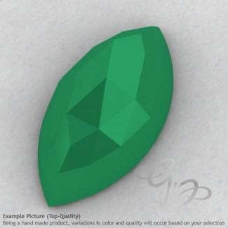Green Onyx Marquise Shape Calibrated Cabochons