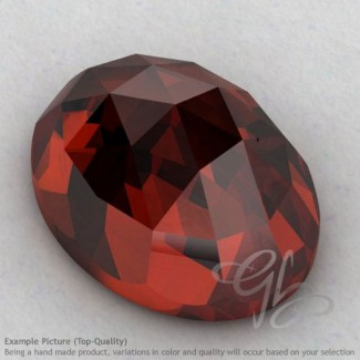 Garnet Oval Shape Calibrated Cabochons