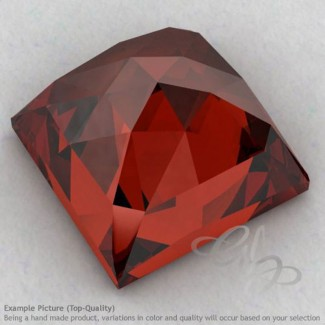 Garnet Square Shape Calibrated Cabochons