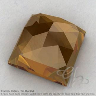 Honey Quartz Square Shape Calibrated Cabochons
