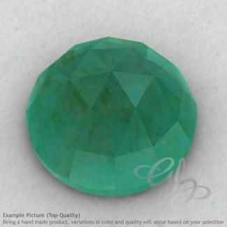Green Aventurine Round Shape Calibrated Cabochons