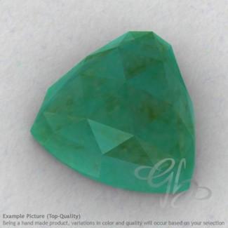 Green Aventurine Trillion Shape Calibrated Cabochons
