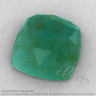 Green Aventurine Square Cushion Shape Calibrated Cabochons