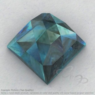 Labradorite Square Shape Calibrated Cabochons