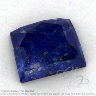Lapis Lazuli Baguette Shape Calibrated Cabochons