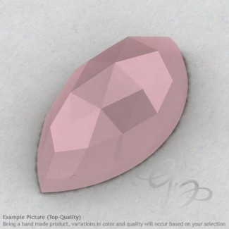 Pink Chalcedony Marquise Shape Calibrated Cabochons