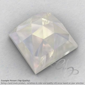 Rainbow Moonstone Square Shape Calibrated Cabochons