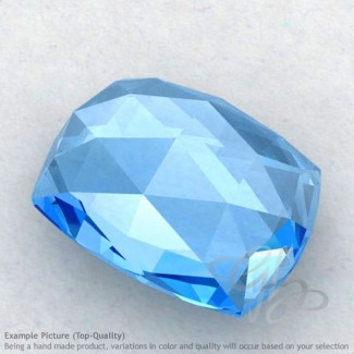 Swiss Blue Topaz Cushion Shape Calibrated Cabochons
