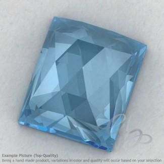 Sky Blue Topaz Baguette Shape Calibrated Cabochons