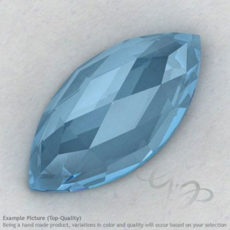 Sky Blue Topaz Marquise Shape Calibrated Cabochons