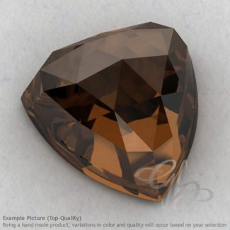 Smoky Quartz Trillion Shape Calibrated Cabochons