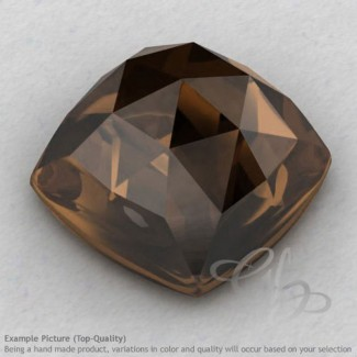Smoky Quartz Square Cushion Shape Calibrated Cabochons