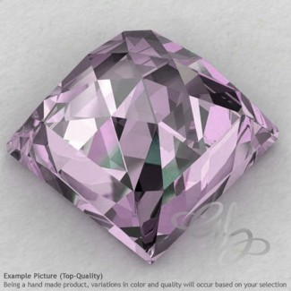 Pink Amethyst Square Shape Calibrated Cabochons