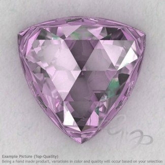 Pink Amethyst Trillion Shape Calibrated Cabochons