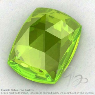 Peridot Cushion Shape Calibrated Cabochons