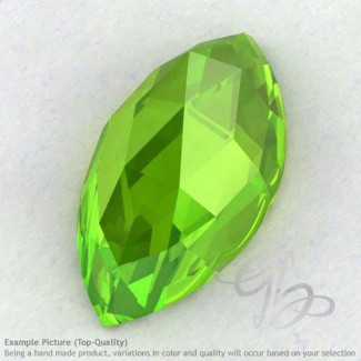 Peridot Marquise Shape Calibrated Cabochons