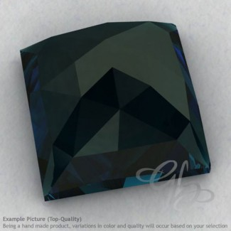 London Blue Topaz Square Shape Calibrated Cabochons