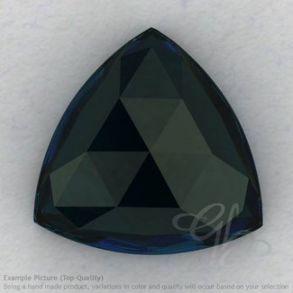London Blue Topaz Trillion Shape Calibrated Cabochons
