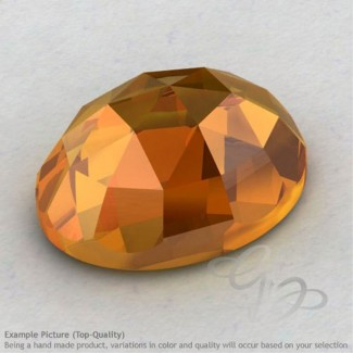 Citrine Oval Shape Calibrated Cabochons