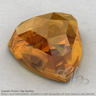 Citrine Trillion Shape Calibrated Cabochons