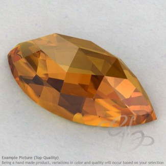 Citrine Marquise Shape Calibrated Cabochons