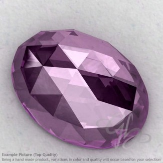 Brazilian Amethyst Oval Shape Calibrated Cabochons