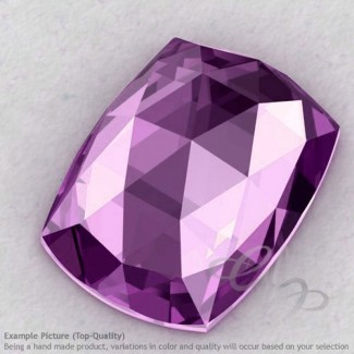 Brazilian Amethyst Cushion Shape Calibrated Cabochons