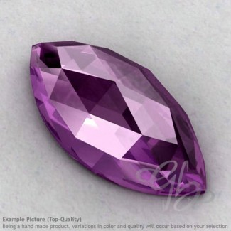 Brazilian Amethyst Marquise Shape Calibrated Cabochons