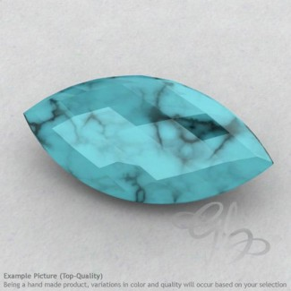 Turquoise Marquise Shape Calibrated Briolettes
