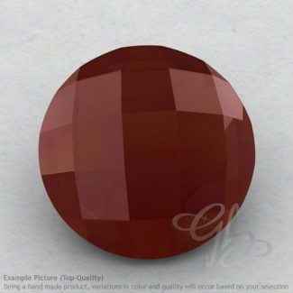 Red Onyx Round Shape Calibrated Briolettes