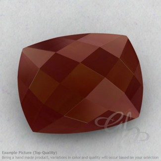 Red Onyx Cushion Shape Calibrated Briolettes