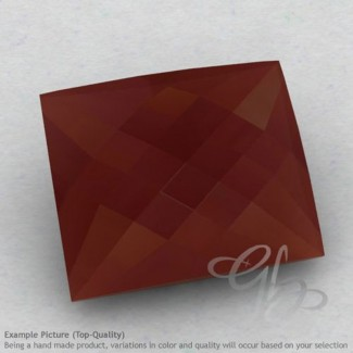 Red Onyx Baguette Shape Calibrated Briolettes