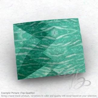 Amazonite Baguette Shape Calibrated Briolettes
