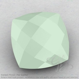 Aqua Chalcedony Square Cushion Shape Calibrated Briolettes