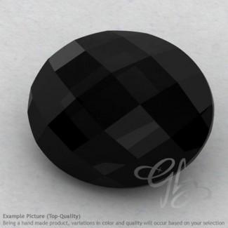 Black Onyx Oval Shape Calibrated Briolettes