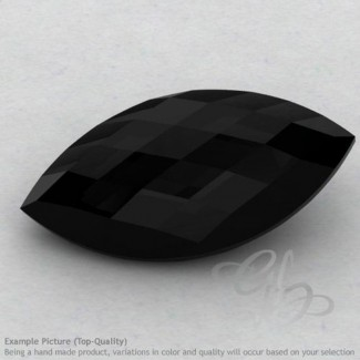 Black Onyx Marquise Shape Calibrated Briolettes
