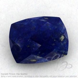 Lapis Lazuli Cushion Shape Calibrated Briolettes