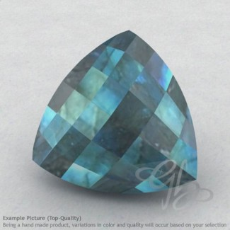 Labradorite Trillion Shape Calibrated Briolettes