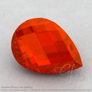 Carnelian Pear Shape Calibrated Briolettes