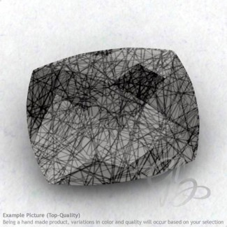 Black Rutile Cushion Shape Calibrated Briolettes