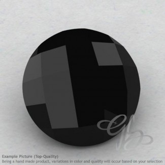 Black Spinel Round Shape Calibrated Briolettes